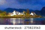 digital watercolour from a... | Shutterstock . vector #275823563