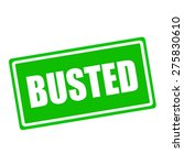 Busted White Stamp Text On...