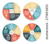set of business circle info...   Shutterstock .eps vector #275851853