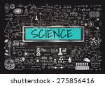 hand drawn about mathematics on ... | Shutterstock .eps vector #275856416