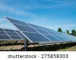 photovoltaic panels  ...   Shutterstock . vector #275858303