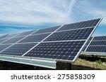 photovoltaic panels  ...   Shutterstock . vector #275858309
