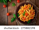 Penne Pasta In Tomato Sauce...