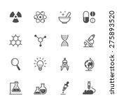 science icons | Shutterstock .eps vector #275893520