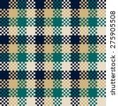 pixel art design  seamless... | Shutterstock .eps vector #275905508