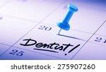 concept image of a calendar... | Shutterstock . vector #275907260
