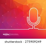abstract creative concept... | Shutterstock .eps vector #275909249