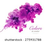 acrylic colors and ink in water.... | Shutterstock . vector #275931788