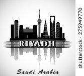 modern riyadh city skyline... | Shutterstock .eps vector #275949770
