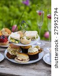 Small photo of Afternoon tea in the garden