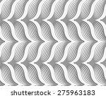 modern seamless pattern.... | Shutterstock .eps vector #275963183