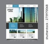 website design for your... | Shutterstock .eps vector #275970068