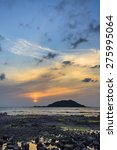 Sunset With Biyangdo Island In...
