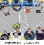 team functionality industry... | Shutterstock . vector #276002498