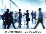 business people colleagues... | Shutterstock . vector #276012920