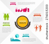 how to obtain good health and...   Shutterstock .eps vector #276015203