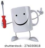fun mug   Shutterstock . vector #276030818