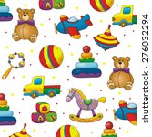 kids toy pattern | Shutterstock . vector #276032294