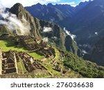 machupicchu  peru | Shutterstock . vector #276036638
