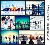 business people corporate... | Shutterstock . vector #276044123