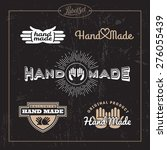 templates for badges  labels ... | Shutterstock .eps vector #276055439
