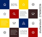 colour square infographic or...