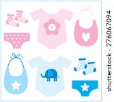 baby equipment | Shutterstock .eps vector #276067094