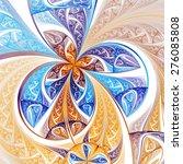 Colorful Fractal Flower Or...