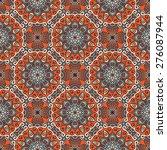 seamless pattern. vintage... | Shutterstock .eps vector #276087944