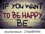 happy concept | Shutterstock . vector #276089594