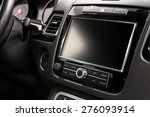 modern car dashboard. screen... | Shutterstock . vector #276093914