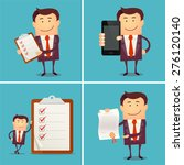set of businessman characters... | Shutterstock .eps vector #276120140