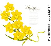 Holiday Yellow Flowers...