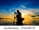 Fishermen Are Using Nets Get...