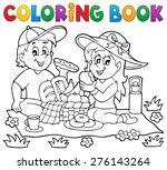 Coloring Book Picnic Theme 1  ...