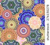 ornamental seamless pattern ... | Shutterstock . vector #276150278