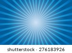 vector background blue gradient radial - stock vector
