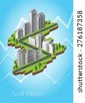 real estate | Shutterstock .eps vector #276187358