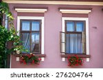 sighisoara  romania   june 23 ... | Shutterstock . vector #276204764