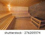 interior detail of a sauna in...   Shutterstock . vector #276205574