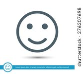 smile icon | Shutterstock .eps vector #276207698