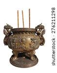 Chinese Dragon Incense Burner...
