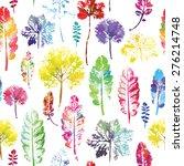 crazy beautiful imprint... | Shutterstock .eps vector #276214748