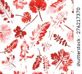 autumn pattern  crazy beautiful ...   Shutterstock .eps vector #276217370