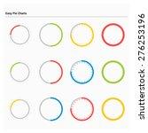 creative progress circle set