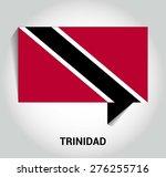 three dimensional 3d trinidad...   Shutterstock .eps vector #276255716