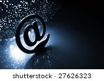 fiber optics background with... | Shutterstock . vector #27626323