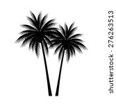 palm trees vector | Shutterstock .eps vector #276263513