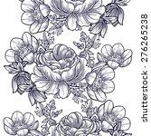 abstract elegance seamless... | Shutterstock . vector #276265238