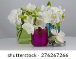 Bouquet Of Fresh White...